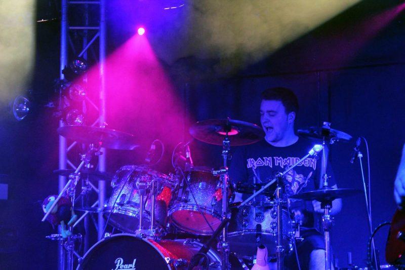 Solarbird drummer Ed